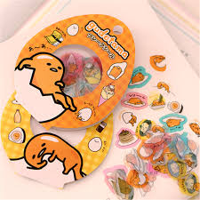On Sale 60 Pcs Pack Sanrio Gudetama Lazy Egg Sealing Stickers Diary Label Stickers Pack Decorative Scrapbooking Diy Toy Stickers 43 The Toys Central 63