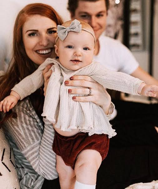 Photo of Jeremy Roloff  & his  Daughter  Ember Jean Roloff