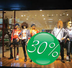 Green Ball Sales Window Sticker Tenstickers