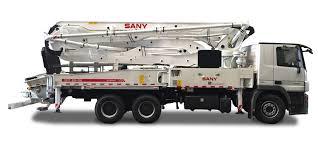 sany concrete machinery