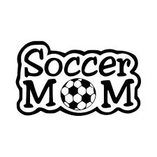 Soccer Mom Vinyl Soccer Ball Decal Sticker