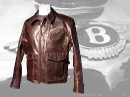 half belt deluxe leather jacket aero