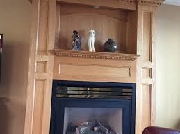 update this fireplace surround