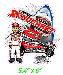 Logan Schuchart Drf Car Shark Decal Shark Racing