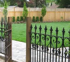 Front Yard Metal Fences Acnn Decor