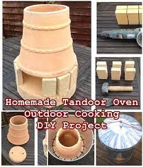 homemade tandoor oven outdoor cooking