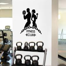 Fitness Center Wall Decals Large Uk For Living Room Design Girls Quotes Custom Vamosrayos