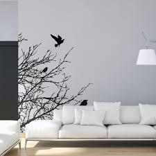Birds On Branch Wall Sticker Moonwallstickers Com
