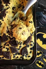 batman ice cream banana and chocolate