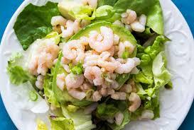 Bay Shrimp and Avocado Salad Recipe ...