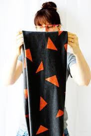 diy metallic infinity scarf say yes