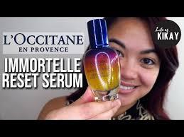 l occitane immortelle reset serum