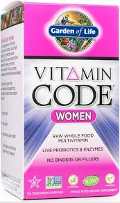 vitamin code women by garden of life