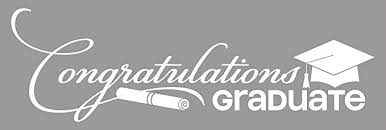 Wall Decor Plus More Wdpm3450 Congratulations Graduate Vinyl Decal Lettering With Graduation Cap Diploma Art 36 X 11 White Amazon Com