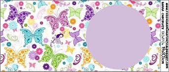 Mariposas Etiquetas Para Imprimir Gratis Ideas Y Material