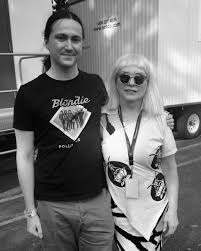 """Debbie Harry/BLONDIE on Twitter: """"With Adam Johnston who wrote our track  Fragments. He goes by Your Movie Sucks on YouTube. Watching his videos was  how I discovered the song.… https://t.co/AUhE7oCHUi"""""""