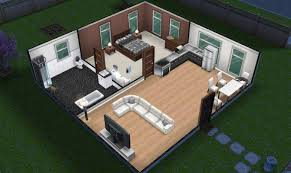 small simple sims freeplay house