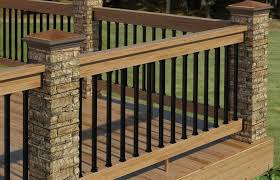 Home Elements And Style Deck Railing Photos Metal Bronze Lowe S Systems Railings Gates Inserts Painted Kits Ideas Crismatec Com