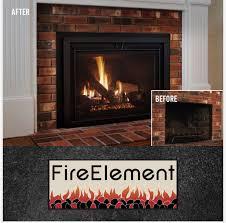 existing wood burning fireplace