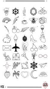 160 Oryginalnych Malych Wzorow Tatuazy Tatuaze Tatuazeslodkie