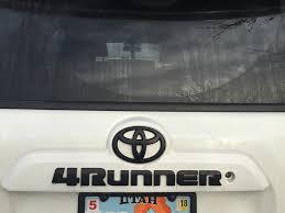 4runner Blackout Emblems Vs Plasti Dip 5th Gen 4runner Blackout