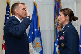 Colonel promotes wife, then retires > U.S. Air Force > Article Display