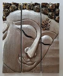 fair trade thai buddha 3d 3 piece