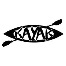 Kayak Vinyl Decal Sticker Kayaking Decals Stickers Country Boy Customs Store