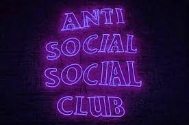 purple anti social social club logo