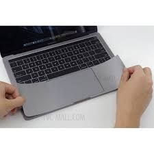 Buy Lention Palm Guard With Trackpad Skin Sticker For Macbook Pro 15 Inch With Touch Bar At Best Price At Tvc Mall