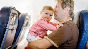 tips for pas flying with babies and