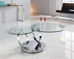 ring coffee table black or clear