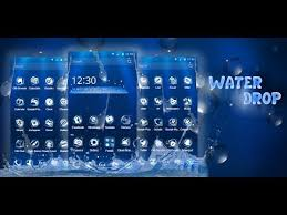 3d water drop theme apps on google play
