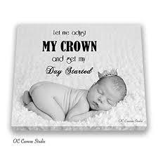 com your baby photo canvas print custom family photo