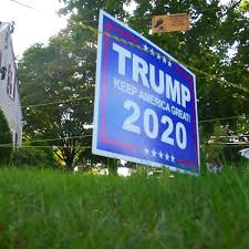 Mass Man Puts Electric Fence Around Trump Sign To Protect It From Thieves
