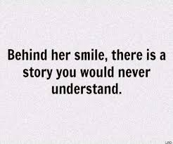 and i just keep smiling through it all quotes to live by