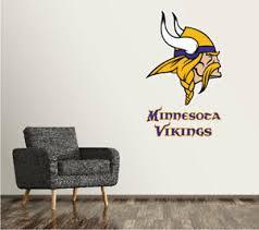 Minnesota Vikings Wall Decal Logo Football Nfl Art Sticker Vinyl Large Sr106 Ebay