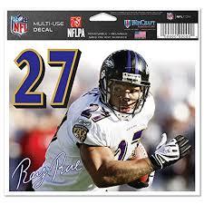 Baltimore Ravens Official Nfl 4 5 X6 Car Window Cling Decal Donald R Jonesety