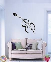 Music Transfer Mu3 Removable Wall Decal Huge Trumpet Music Wall Stricker