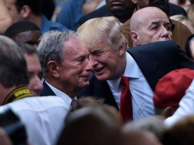 """Michael Bloomberg trump ile ilgili görsel sonucu"""""""