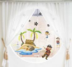 Pirates And Palm Trees Window Sticker Tenstickers
