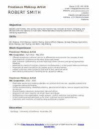 freelance makeup artist resume sles