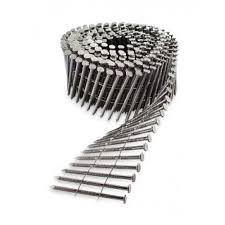 wire coil full round head ring shank