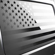Jeep American Flag Window Decal Ronin Factory
