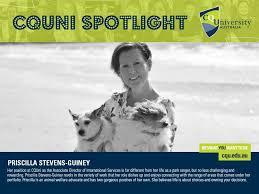 Meet Priscilla Stevens-Guiney, the... - CQUniversity Australia | Facebook