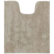stripe 20 in x 24 in nylon bath rug
