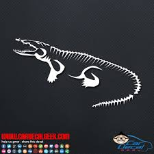 Cool Alligator Crocodile Car Window Decal Sticker Graphic