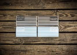 Explore America Flag Vinyl Decal Pair