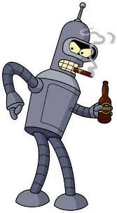 Bender Decal Sticker 12