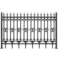 China F007 Discount Wrought Iron Fence Metal Modern Steel Fence Design Philippines China Fencing System Fence Panel